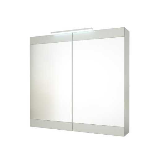 Pakabinama veidrodinė vonios spintelė Serena Retro 90