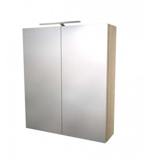 Pakabinama veidrodinė vonios spintelė Scandic 60
