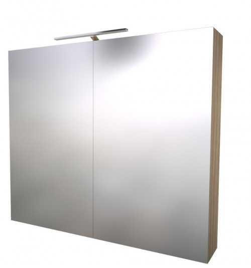 Pakabinama veidrodinė vonios spintelė Scandic 80