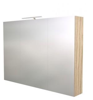 Pakabinama veidrodinė vonios spintelė Scandic 100