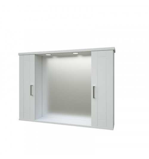 Pakabinama veidrodinė vonios spintelė Eternal 102