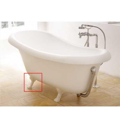 Kojų apdaila voniai Fama baltos