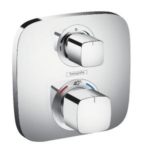 Potinkinis termostatinis maišytuvas Hansgrohe Ecostat E dviejų kanalų