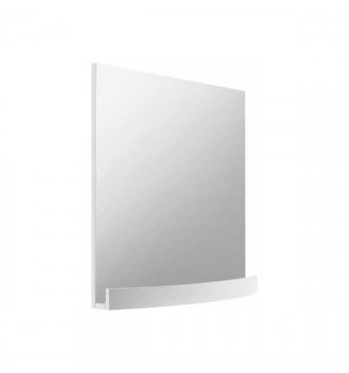 Ravak Evolution veidrodis su lentynėle blizgi balta