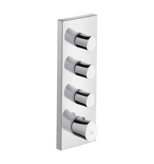 Potinkinis termostatinis modulis Hansgrohe Axor Strack Organic trijų kanalų