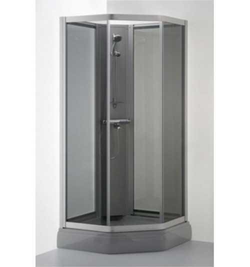 Penkiakampė dušo kabina Vaiva Plius
