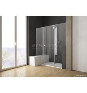 Nestandartinės dušo durys į nišą Eos DWJS