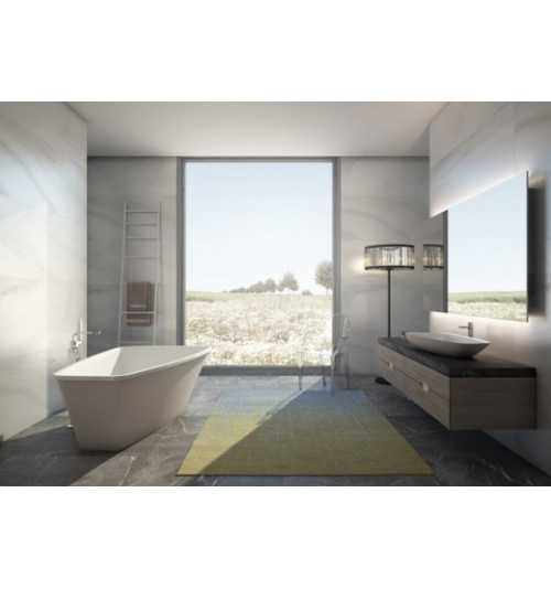 Laisvai pastatoma akmens masės vonia Casa Di Vanna Tesoro 1750x1100 mm