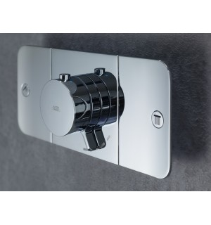 Potinkinis termostatinis modulis Hansgrohe Axor One dviejų kanalų
