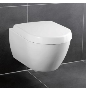 Pakabinamas unitazas Villeroy & Boch Subway 2.0 su soft-close dangčiu
