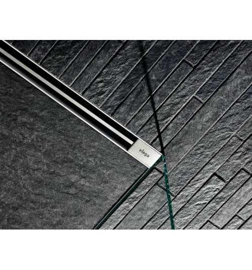 Dušo latakas Viega Vario 300-1200mm su matinėm grotelėm