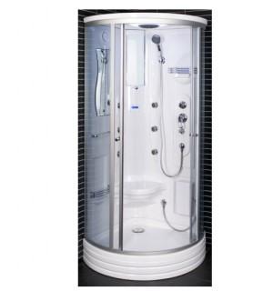 Garinė masažinė dušo kabina Duschy 6106 90x90