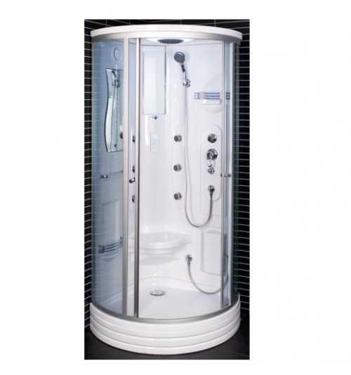 Masažinė dušo kabina Duschy 6006 90x90