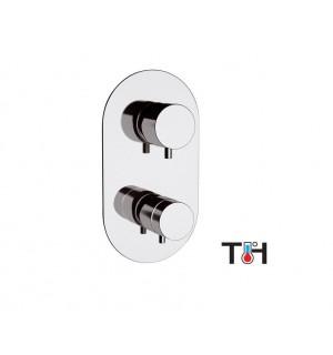 Potinkinis termostatinis maišytuvas Suvi 3 kanalai