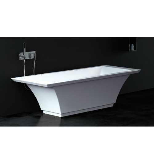 Akmens masės vonia TEODOR 1800x750