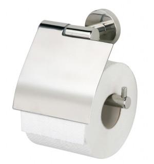 WC popieriaus laikiklis su dangteliu Boston polished stainless steel