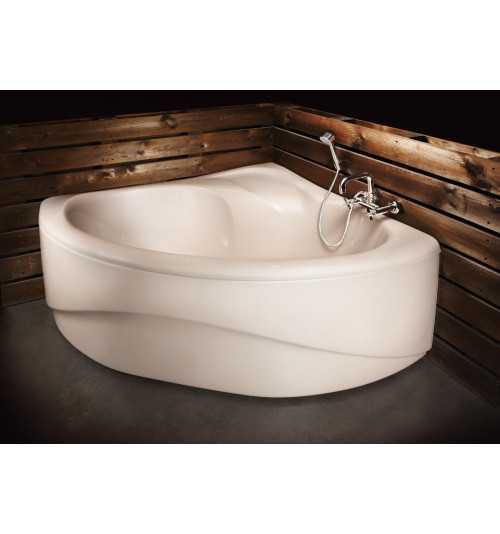 Kampinė akrilinė vonia Paa Camilla 1370x1370