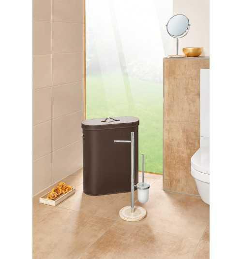 Pastatomas WC popieriaus ir šepečio stovo komplektas Nicol Julia