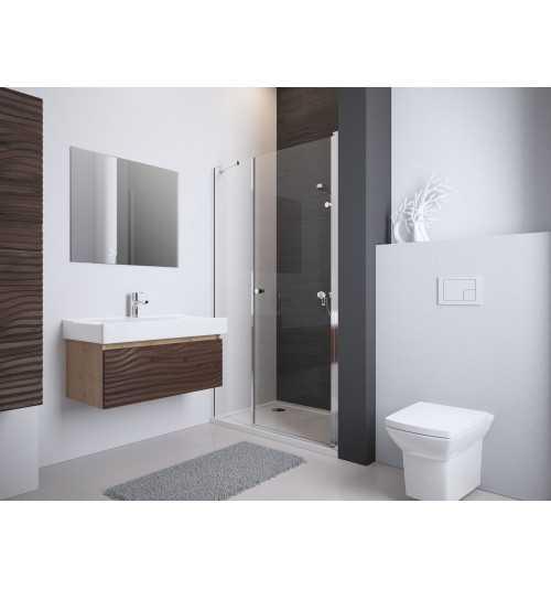 Nestandartinės dušo durys į nišą DWS