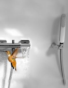 Maišytuvas voniai su kriokliu LOFT su dušo galvute
