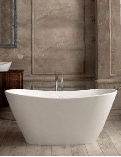 Lieto akmens masės vonia Paa Amore 160x850 laisvai pastatoma