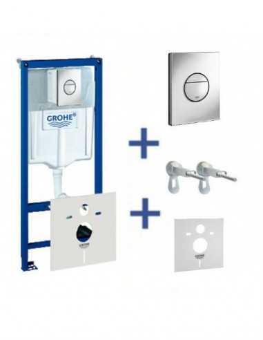 Grohe Rapid SL WC potinkinio rėmo komplektas (4in1)