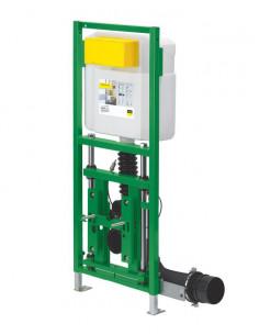 Viega Eco Plus pakabinamo unitazo potinkinis remas su reguliuojamu aukšciu (8cm) 708764