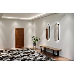 Ovalus veidrodis LAURA PLUS su LED apšvietimu