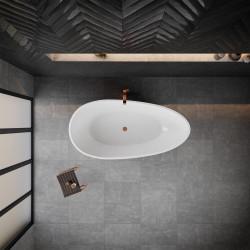 Akmens masės vonia VAYER Carina 1700x850