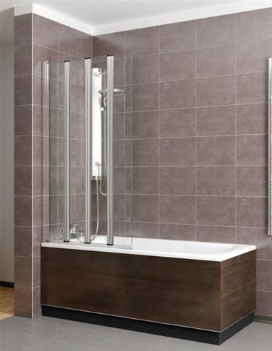 Radaway Eos PNW vonios sienelė sudaryta iš mažų segmentų