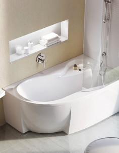 Ravak Rosa 95 kampinė akrilinė vonia
