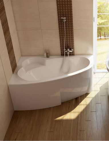 Ravak Asymmetric kampinė akrilinė vonia