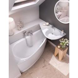 Ravak Avocado kampinė akrilinė vonia