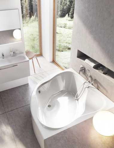 Ravak NewDay kampinė akrilinė vonia