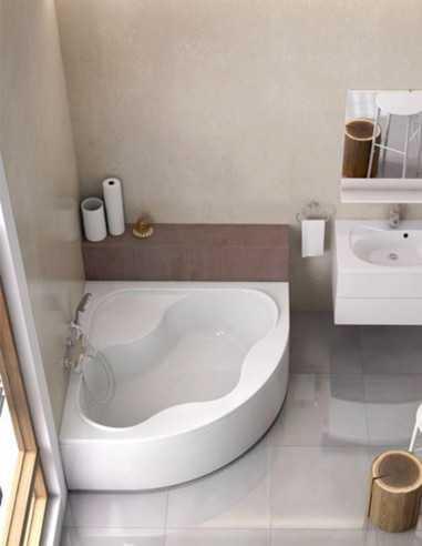 Ravak Gentiana kampinė akrilinė vonia