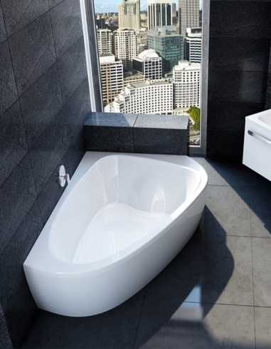 Ravak LoveStory 2 kampinė akrilinė vonia