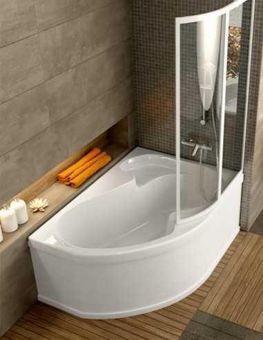 Ravak Rosa 1 kampinė akrilinė vonia