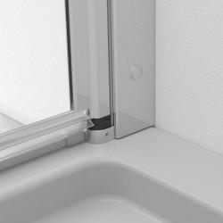 Radaway EOS PDD II  pusapvalė dušo kabina