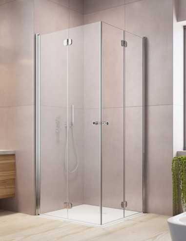 Radaway Eos KDD-B kampinė dušo kabina su į vidų ir išore varstomomis durimis