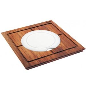 Franke pjaustymo lentele medine (Iroko) ir plastikine 112.0016.487
