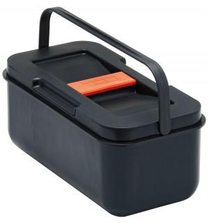 Franke šiukšlių rūšiavimo sistema Mobile Waste, juodo plastiko atliekų dėžutė 134.0046.244