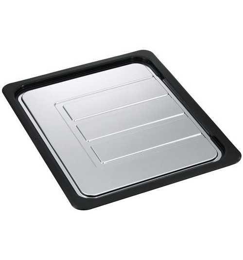 Franke antibakterinė plieninė-plastikinė nusausinimo plokštuma 342 x 430 mm 112.0188.651