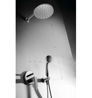 Potinkinė dušo sistema Tres Flat