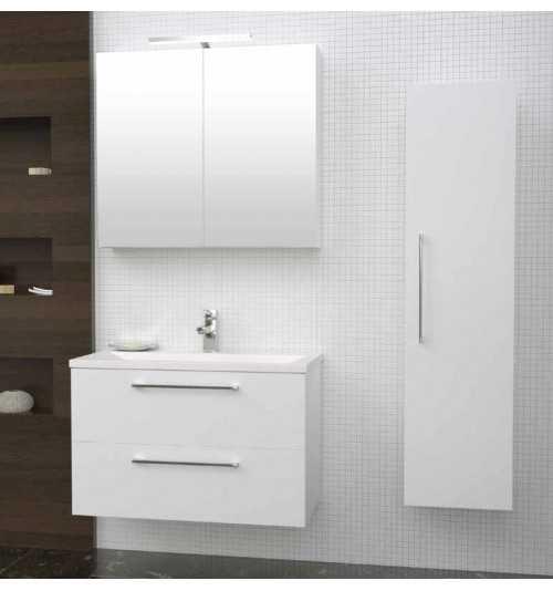 Vonios baldų komplektas Scandic 80 (3 dalių)