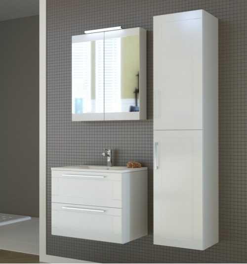Vonios baldų komplektas Serena Retro 60 (3 dalių)