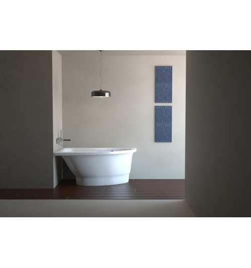 Akmens masės vonia Vispool Mia 1400x900