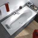 Klasikinės, stačiakampės vonios