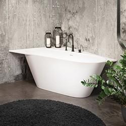 Kampinės, asimetrinės vonios