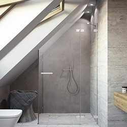Nestandartinės dušo kabinos