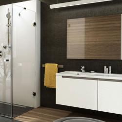 Nejudančios kampinių dušo kabinų sienelės